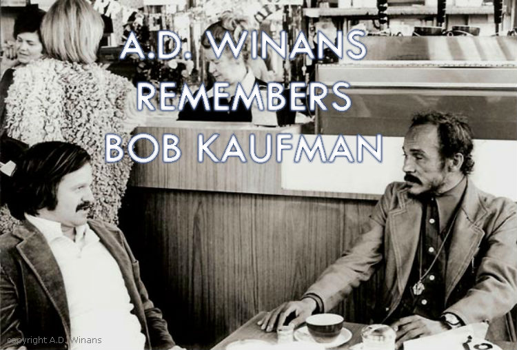 AD Winans remembers Bob Kaufman