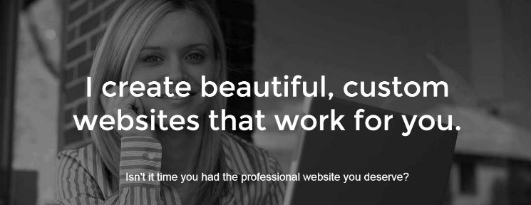 Custom websites for writers and poets