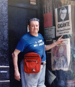 Henri Cru in Greenwich Village, 1987. Photo courtesy of Henri Cru.