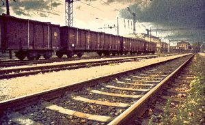 Railroad Earth - Photo is Road to Nowhere by Blue Betty via http://www.sxc.hu/profile/bluebetty, photoshopped by Empty Mirror