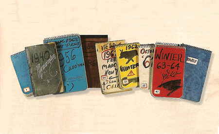Kerouac notebooks