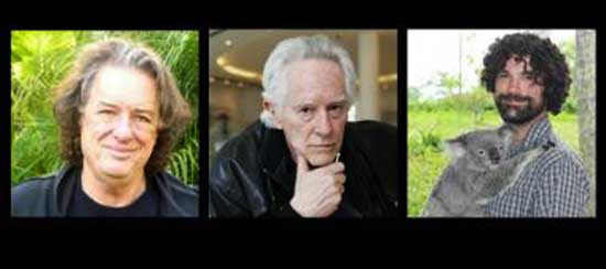 Rob Wasserman, Michael McClure, and Jay Lane