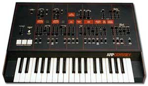 ARP Odyssey Mark III synthesizer, via Wikipedia