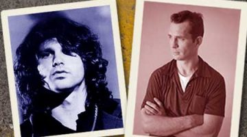 Jim Morrison and Jack Kerouac