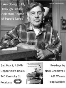 Harold Norse Selected Poems reading May 9 2015