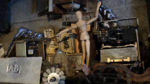 Standing room only: Inside the workshop of E.C. Brown Anomalies