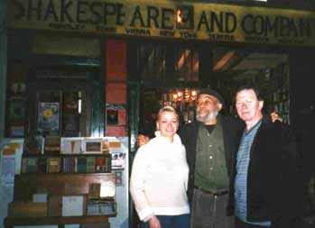Ted Joans, Sveta & Keith Scotcher, March 2003