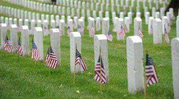 Arlington National Cemetery / credit: Patrick Kelley, U.S. Coast Guard. Public domain.