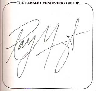 ray manzarek signed bookplate