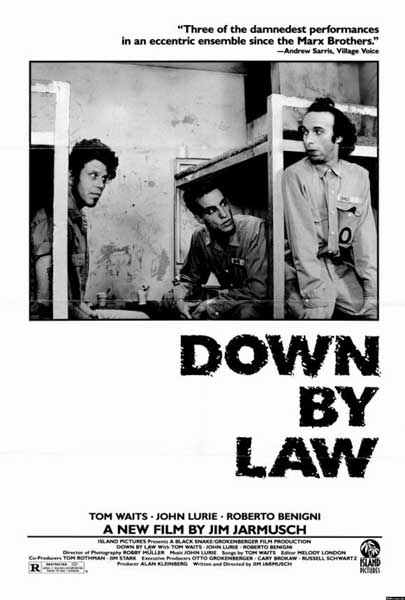 Down by Law poster - film review