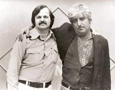 A.D. Winans & Jack Micheline in 1976