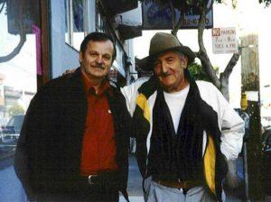 A.D. Winans & Jack Micheline in 1996