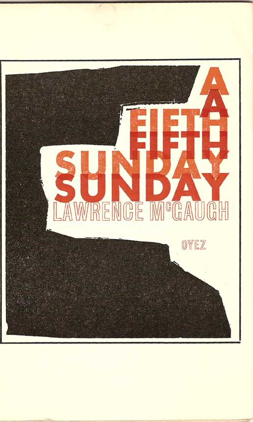Title page - A Fifth Sunday by Lawrence McGaugh