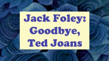 goodbye, ted joans - jack foley