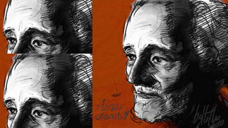 Mario Cesariny by Carlos Botelho