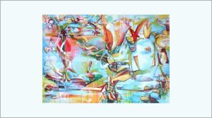 rik lina - painting - surrealist - featured image