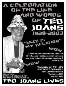 Bukowski's Flyer - Ted Joans