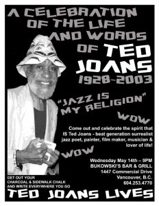 May 14, 2003 celebration of Ted Joans' life