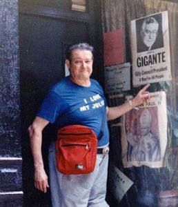 Henri Cru in Greenwich Village, 1987. Photo courtesy of Henri Cru.