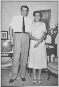 Henri Cru with his sister, Yvonne. Photo courtesy of Yvonne C. Perkins.