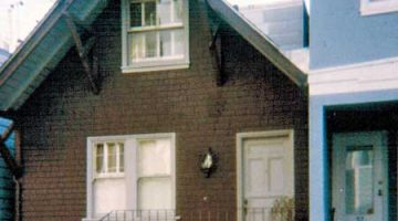 Neal and Carolyn Cassady's house at 29 Russell St., San Francisco