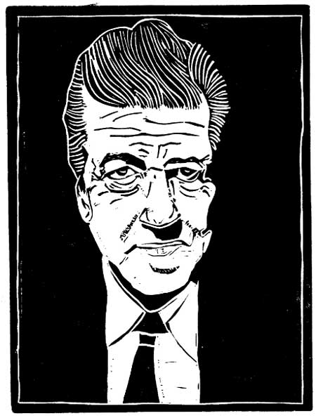 David Lynch (copyright Loren Kantor / http://woodcuttingfool.blogspot.com/)