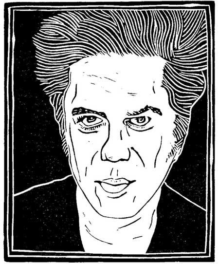Jim Jarmusch (copyright Loren Kantor / http://woodcuttingfool.blogspot.com/)