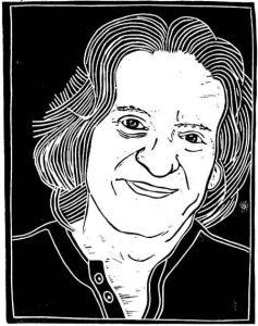 Loren Kantor Self Portrait (copyright Loren Kantor / http://woodcuttingfool.blogspot.com/)