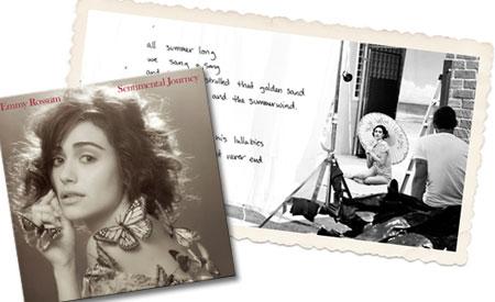 emmy rossum sentimental journey album