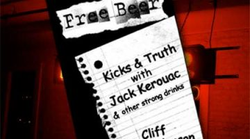 Review – Free Beer: Kicks and Truth with Jack Kerouac by Cliff Anderson