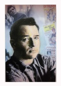 Jack Kerouac Rocky Mount Hall of Fame Potrtrait - inducted by John J. Dorfner