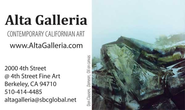 Alta Galleria - Berkeley - Don Clausen