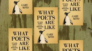 What Poets Are Like -- Gary Soto