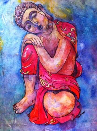 Boddhisattva Dreaming by Gloria Avner