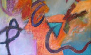 Dervish (detail) by Alec Clayton