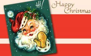 Happy Christmas from Santa and Empty Mirror!