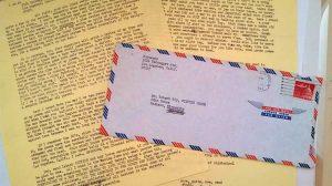 Bukowski letter to Robert Bly. Joshua Preston