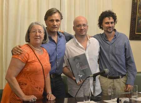 Adelina Pusineri. Viggo Mortensen, Diego Villar, and Federico-Bossert