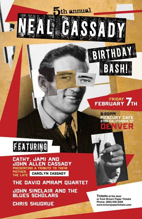 Neal Cassady Birthday Bash