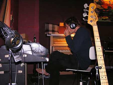 Viggo Mortensen at Keyboards