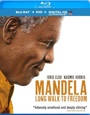 Mandela: Long Walk to Freedom on Blu-ray