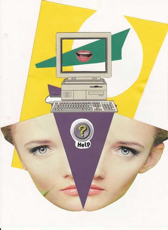 Computer OK by Joanna Marcjanna