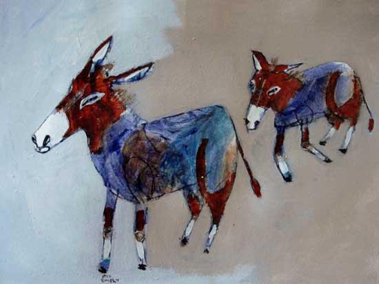 donkeys find an opening - jill emery