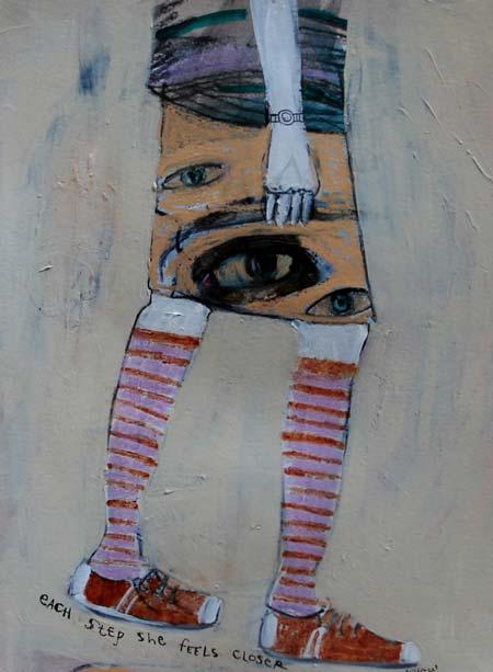 each step she feels closer - jill emery