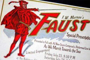 FW Murnau's Faust