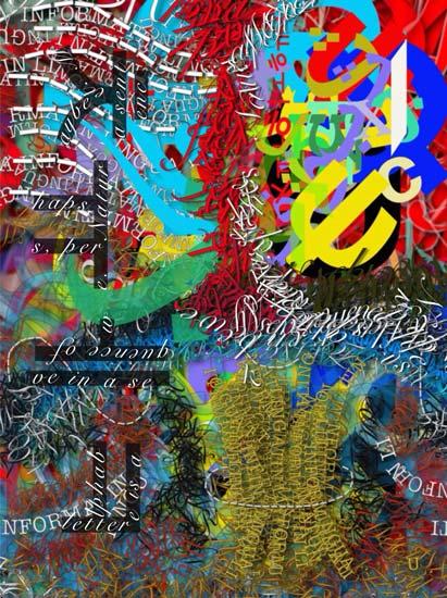 Nature is Alphabet 5 - Nico Vasilikas