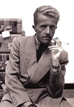 Paul Bowles by Dennis Stock, via Wikipedia