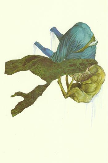 doghead blue  - Nicholas Lockyer