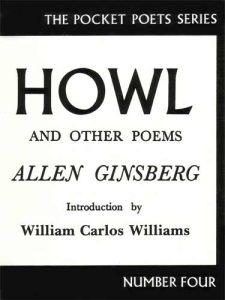 Allen Ginsberg HOWL book cover