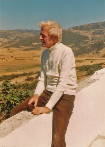 Paul Bowles. Photo by Birgit Stephenson